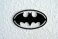 Деревянный декор на стену WHICH.BLACK Batman (75x43 см)