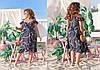 """Летнее миди-платье на запах """"Джасмин"""" с оборками (большие размеры), фото 4"""