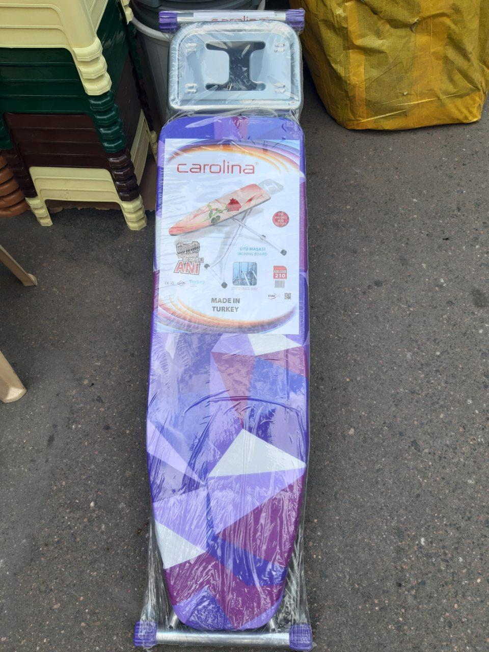 Доска гладильная Carolina 36*106см,общая длинна с местом для утюга 142см