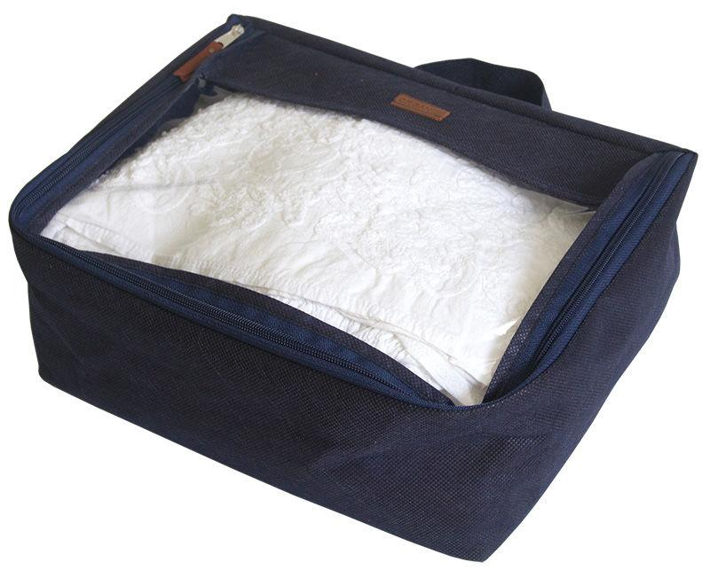 Средняя дорожная сумка для вещей ORGANIZE P002 синий