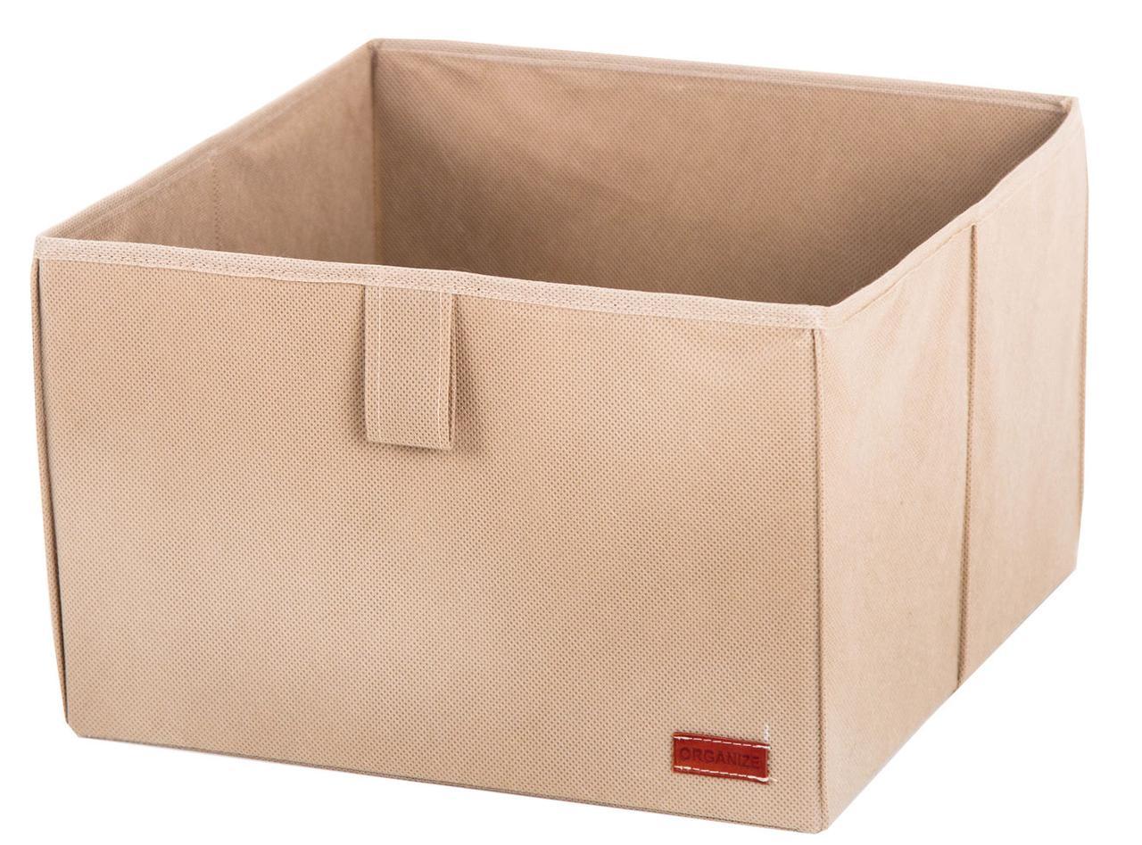 Ящик-органайзер для хранения вещей L ORGANIZE HY-L бежевый