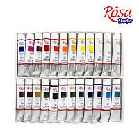 Набор масляных красок 24*20мл, ROSA Studio