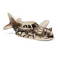 Декорация в аквариум Самолет ТМ Природа 12х9х4.5см