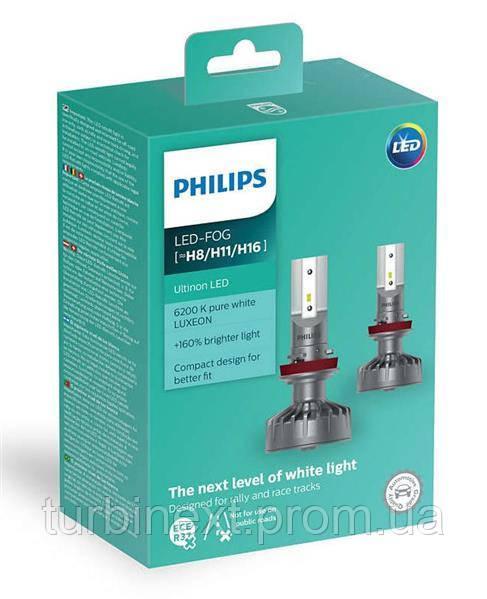 Автолампа светодиодная PHILIPS PS 11366 ULW X2