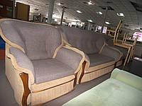 Диван-малютка + кресло-кровать + кресло б/у, фото 1