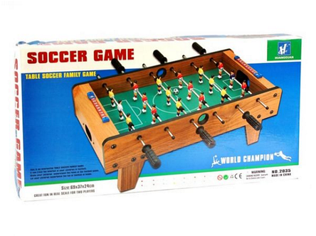 Футбол на штангах, деревянный. HG 2035, фото 2