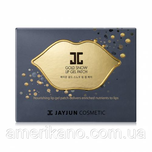 Гидрогелевый патч для губ от JayJun Gold Snow Lip Patch  в индивидуальной упаковке 1 шт
