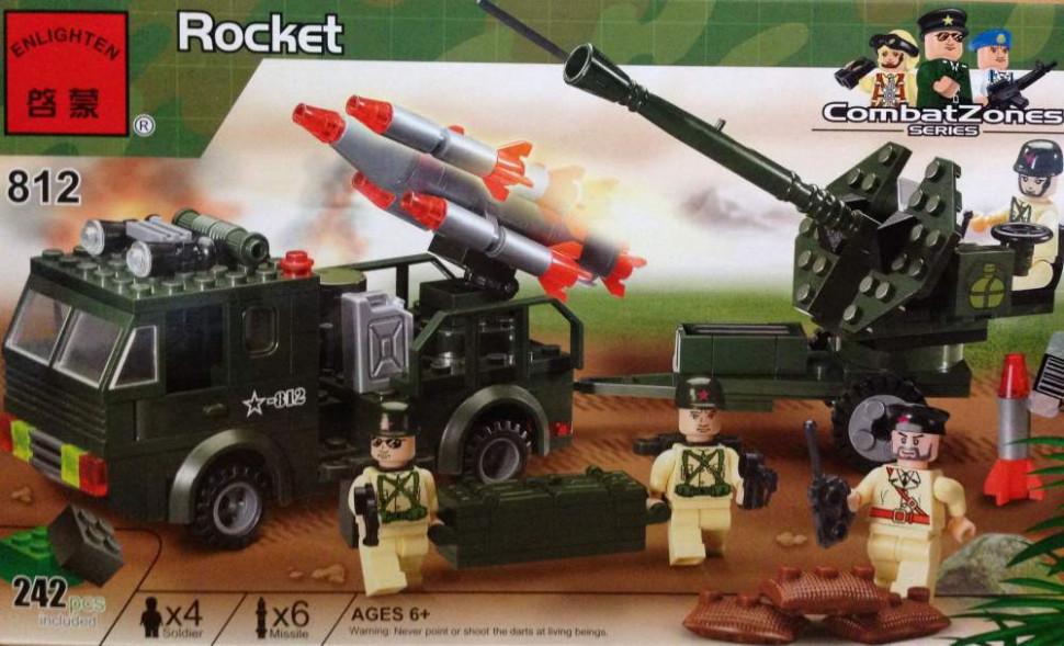 Конструктор BRICK 812 Ракетница