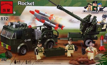 Конструктор BRICK 812 Ракетница, фото 2