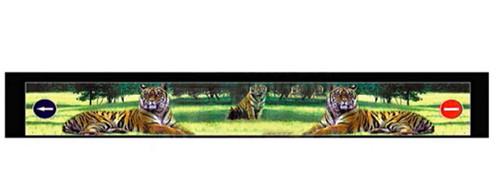 """Брызговик резиновый универсальный для грузовой прицепной техники с декоративным рисунком """"Тигры""""(8685)"""