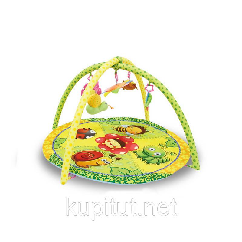 Игровой коврик Lorelli Garden 83х83 (Сад)