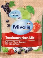 Декстрозные сладости без сахара Mivolis Traubenzucker-Mix, 100 гр.(37шт), фото 1