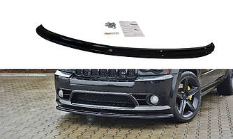 Диффузор переднего бампера губа элерон накладки тюнинг Jeep Grand Cherokee WK STR8