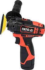 Полировальная аккумуляторная шлифмашина YATO YT-82903, фото 2