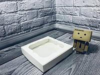 *10 шт* / Коробка для пряников / 150х150х30 мм / Белая / окно-обычн, фото 1