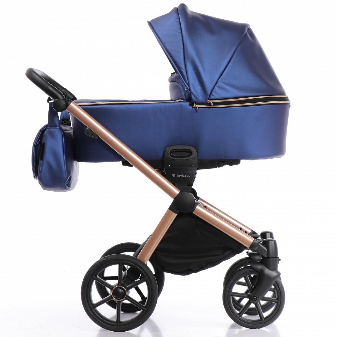 Коляска Invictus V-Dream LUX Blue шасси Cooper 2в1