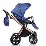 Коляска Invictus V-Dream LUX Blue шасси Cooper 2в1, фото 6