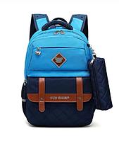 Школьный рюкзак  leather belts