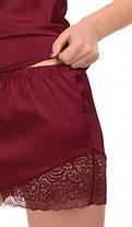 Шелковая пижама (майка с шортами) Martelle Lingerie, фото 2