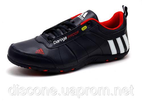 Кроссовки Adidas DAROGA мужские, темно-синие/ красные