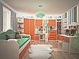 Мебель для детской Италия нимфея альба/малина (Лион) Киев, фото 2