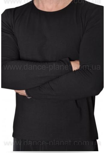Футболка с длинным рукавом для спортивно - бальных танцев
