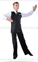 Жилет без лацканов для спортивно - бальных танцев