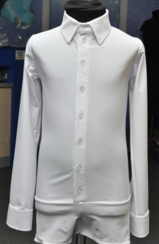 Рубашка 'Ювенал'  (зауженная) для спортивно - бальных танцев