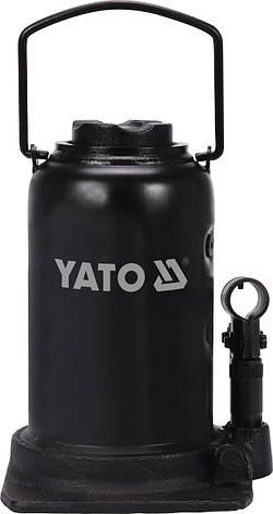 Бутылочный домкрат 25 тонн YATO YT-17075, фото 2