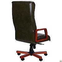 Кресло Кинг Экстра MB бук Лаки Красный, фото 1