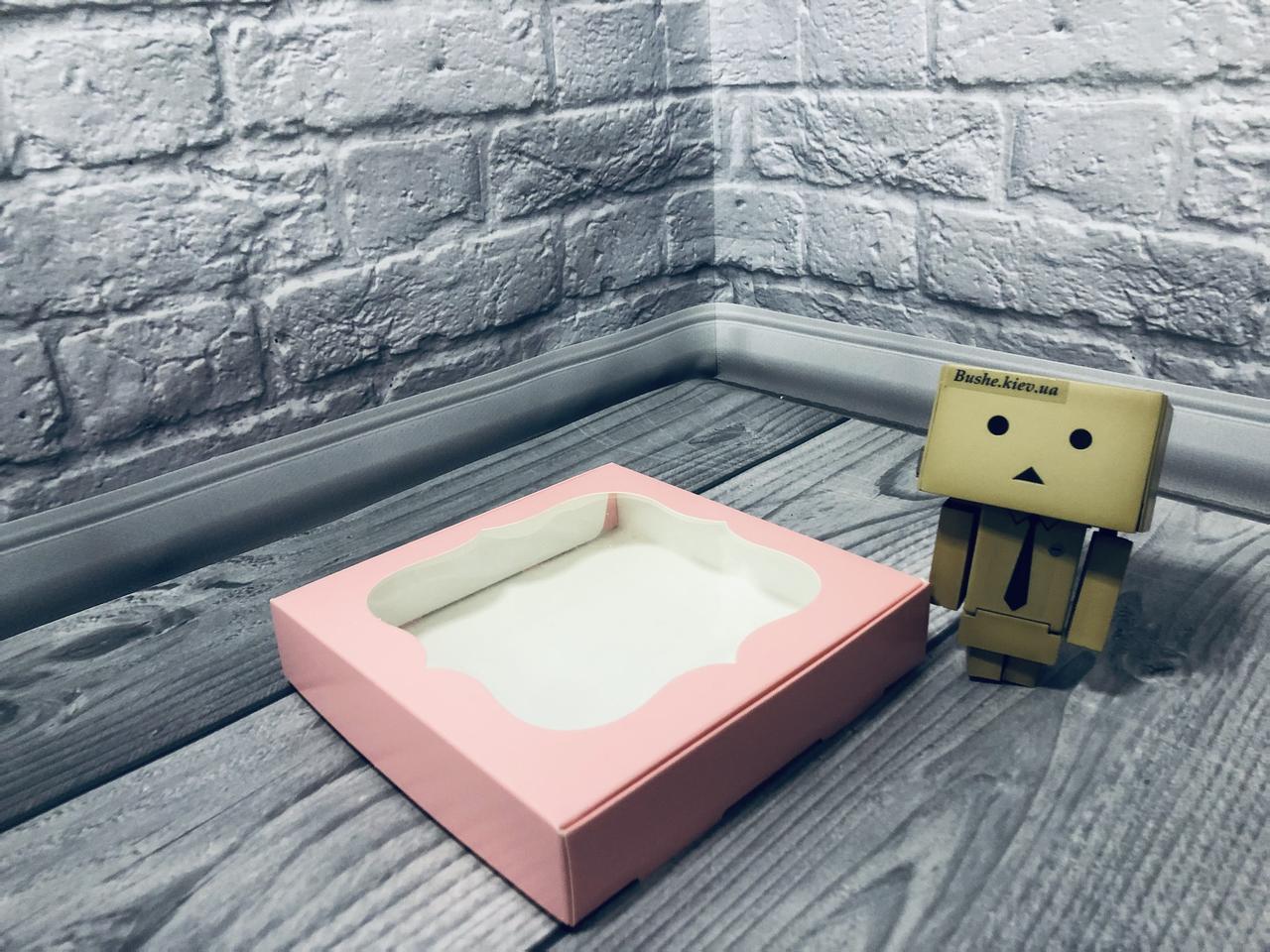 *10 шт* / Коробка для пряников / 150х150х30 мм / печать-Пудр / окно-обычн / лк