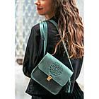 Бохо-сумка Лилу изумруд - зеленая, фото 7