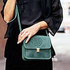 Бохо-сумка Лилу изумруд - зеленая, фото 10