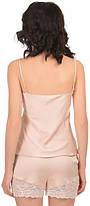 Шелковая кружевная пижама Martelle Lingerie (розовая пудра), фото 3