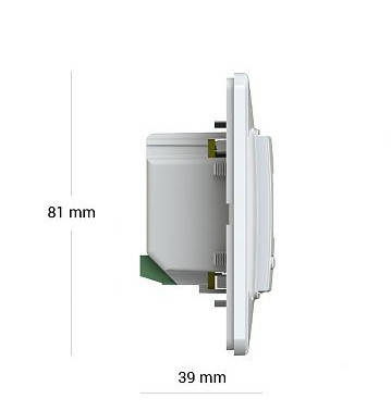Wi - Fi Терморегулятор Terneo ax для теплого пола, фото 2