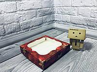 *10 шт* / Коробка для пряников / 150х150х30 мм / печать-Снег.Красн / окно-обычн / НГ, фото 1