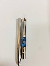 Трансформер кисть для геля - овал (металлическая), фото 3