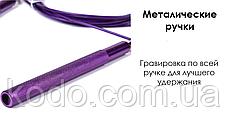Скоростная МЕТАЛИЧЕСКАЯ скакалка PRO- скакалка на подшипниках, фото 3