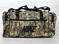 Дорожная мужская сумка в камуфляжном стиле (3214м)