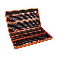 Набор цветных карандашей Coloursoft в дерев.ящике  72цв., Derwent
