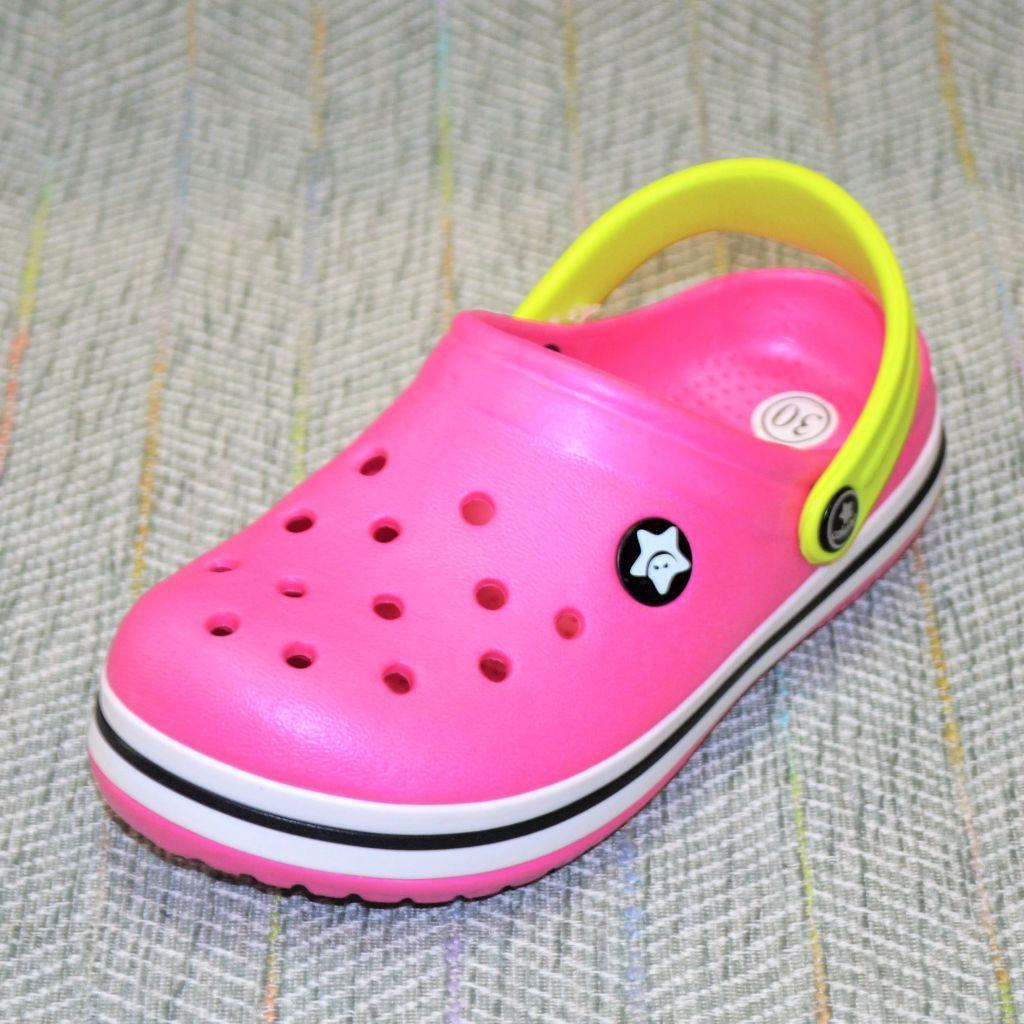 Дитячі крокси на дівчинку Calypso розміри: 31-32