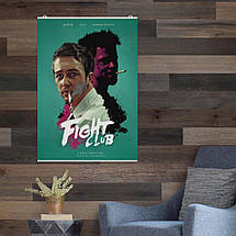 "Постер ""Бойцовский клуб"", Fight Club. Размер 60x42см (A2). Глянцевая бумага, фото 2"