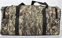 Дорожня чоловіча сумка в камуфляжному стилі  (3214м)