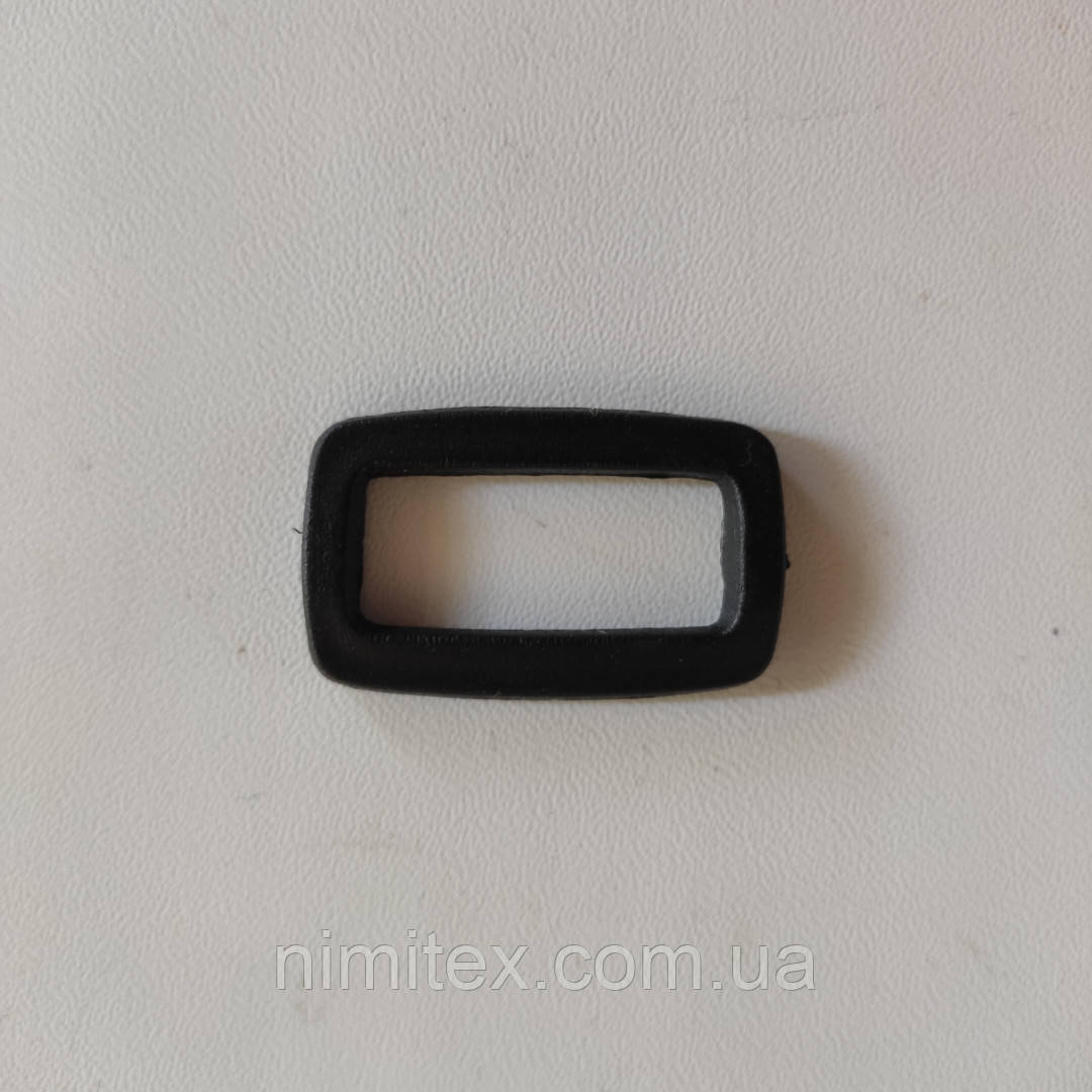 Рамка пластик 29 мм черная