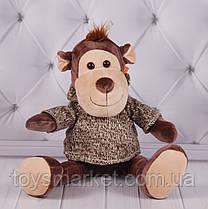 Мягкая игрушка Обезьянка 23 см, плюшевая мартышка, игрушка обезьяна