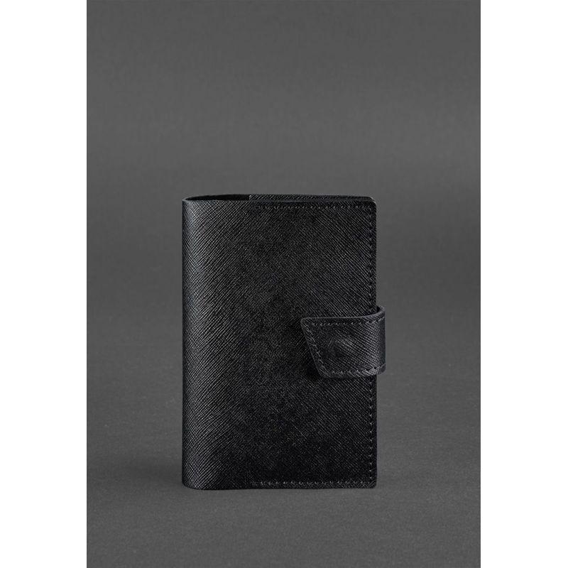 Обложка для паспорта 4.0 Blackwood - черная