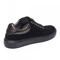 Кеды черные замшевые 805-03, фото 2