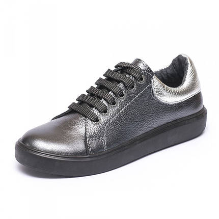 Кеды темное серебро 805-09, фото 2