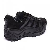 Кроссовки на высокой платформе 932-03, фото 2