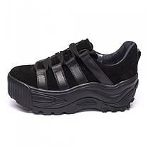 Кроссовки на высокой платформе 932-03, фото 3